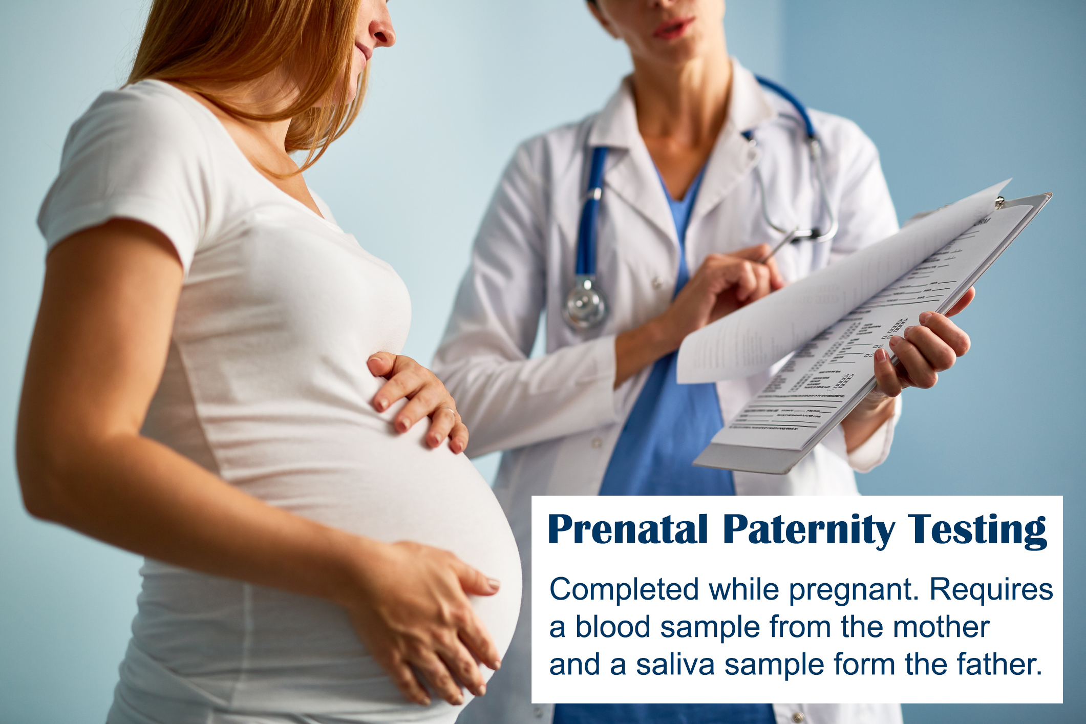 Legal Prenatal Paternity Testing
