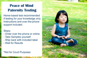 Peace of Mind Paternity Testing